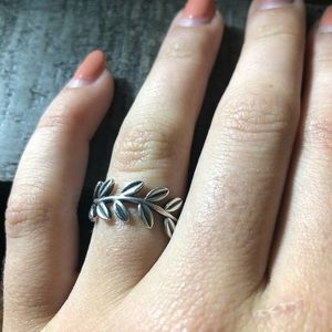 Pandora Chevron, sterling silver, ring